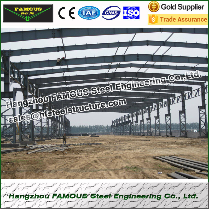 Easy Installation Steel Structure Workshop And Warehouse Fabrication