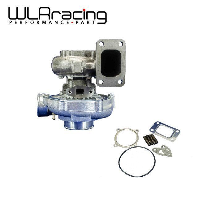 WLR RACING - T3 T360-1 UNIVERSAL V2 TURBO CHARGER AR70 .63AR 4 BOLT EXHAUST BIG WHEEL WLR-TURBO35