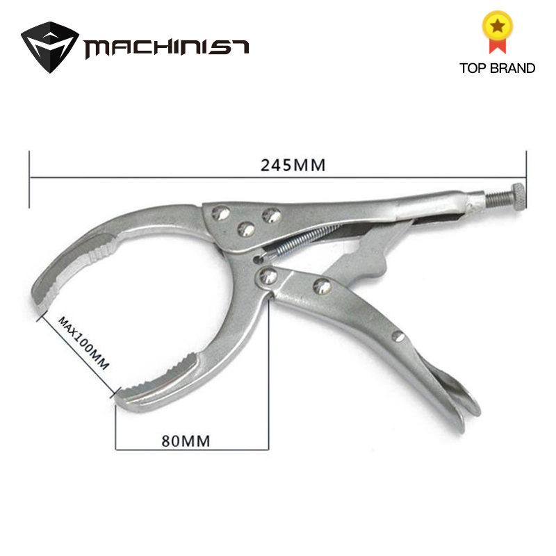 1pc Oil Filter Wrench Oil Filter Removal Tool Grip Plier Oil Core Plier Special Tools For Car Repair Vise Spanner Machine