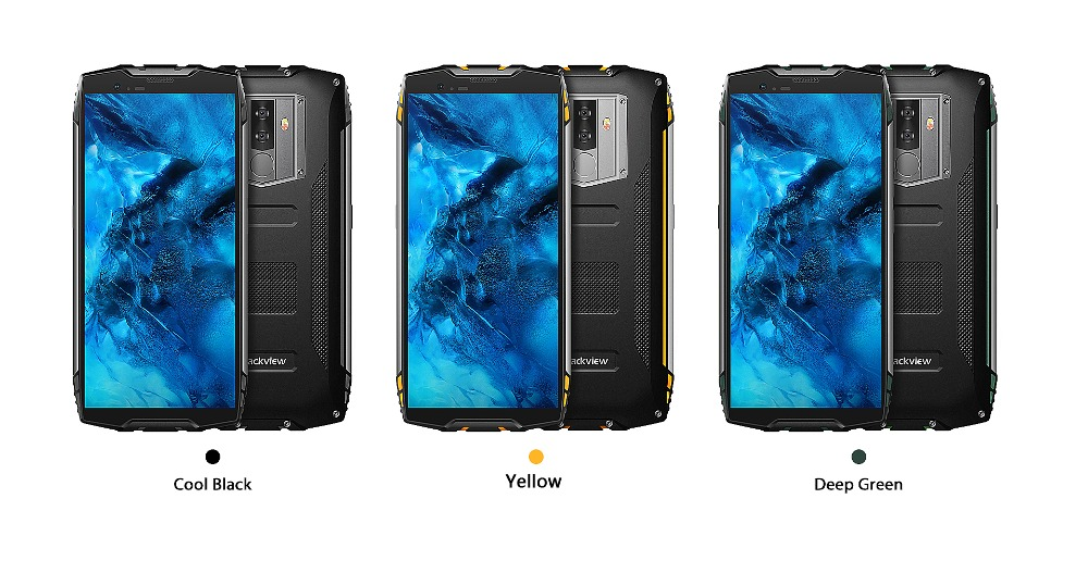 """HTB10mJ9di6guuRjy0Fmq6y0DXXa5 Blackview BV6800 Pro Android 8.0 Outdoor Mobile Phone 5.7"""" MT6750T Octa Core 4GB+64GB 6580mAh Waterproof NFC Rugged Smartphone"""