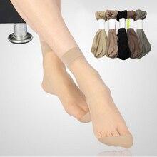 Лидер продаж! Высококачественные женские бархатные носки, женские носки, летние тонкие шелковые прозрачные носки, 5 пар = 10 штук, женские носки до лодыжки