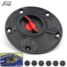 Buy Motorcycle CNC Aluminum Fuel Tank Cap Cover Decorate Guard Protector Modified Accessories for Yamaha MT07 MT09 R6 R25 FZ1 FZ6 directly from merchant!