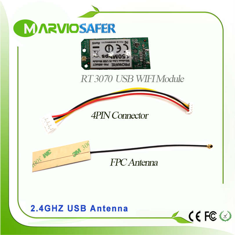 Marviosafer RT3070 USB WIFI Module for CCTV Network Wifi IP Camera 5V DC Marviosafer RT3070 USB WIFI Module for CCTV Network Wifi IP Camera 5V DC