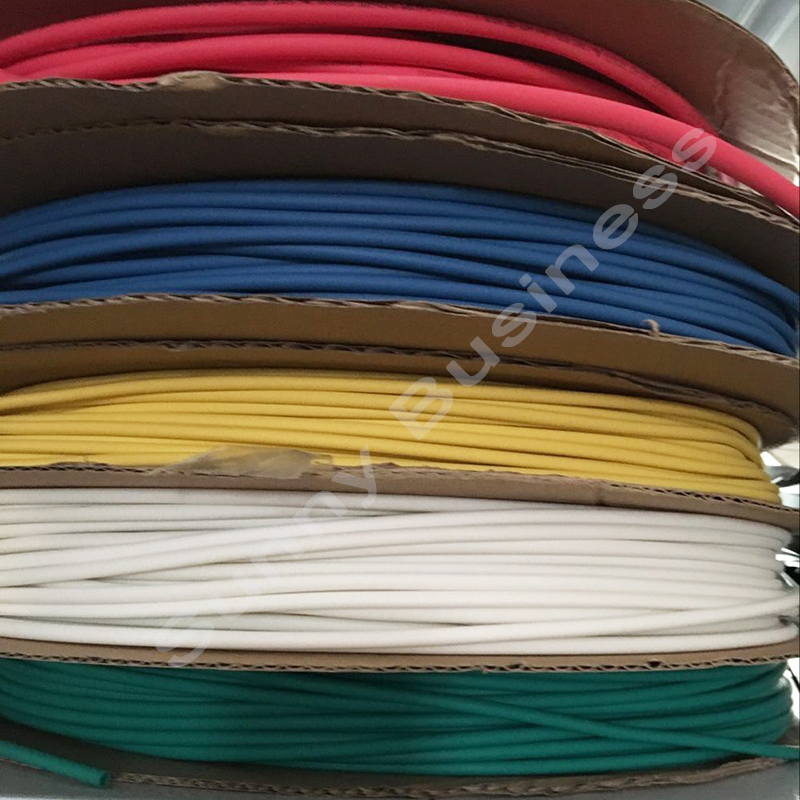 """10/' Feet CLEAR 1/"""" 25mm Polyolefin 2:1 Heat Shrink Tubing Tube Cable US UL 10 FT"""