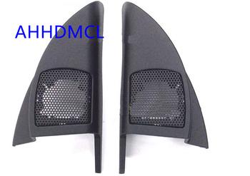 Szyny głośnikowe do montażu głośników samochodowych uchwyty gumowe drzwi kątowe do miasta 2008 2009 2010 2011 2012 2013 tanie i dobre opinie Skrzynek głośnikowych ABS+PC+Metal AHHDMCL Black 0 2kg Car audio door angle gum tweeter refitting