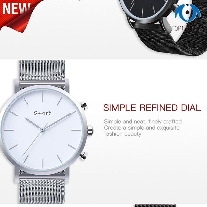 Top montre affaires montre intelligente IP67 étanche 50 mètres Notification télécommande podomètre Sport Smartwatch cadeau pour les garçons