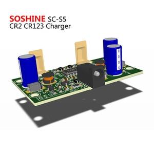 Image 5 - Soshine S5 2 חריץ RCR 123 CR2 16340 17355 ליתיום סוללה מטען קלט מתח AC 100 ~ 240V 50/60 HZ DC 12V