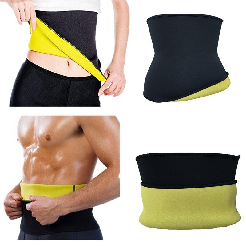 Neoprene Women Man Running Vest Slimming Waist Trainer Exercise Lose Weight Girdle Training Gym Fitness Sportswear Ultra Sweat 4