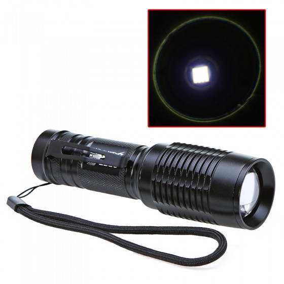 2000 Lumens XML T6 LED 5 Mode Zoomable flashlight for Hunting Torch Flashlight +DC/Car Charger+2*18650 Battery crazyfire led flashlight 3t6 3800lm cree xml t6 hunting torch 5 mode 2 18650 4200mah rechargeable battery dual battery charger