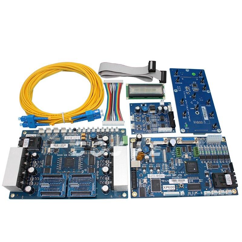 Vendite calde! UN set xp600 scheda madre e scheda di testa per il doppio testa xp600 stampante eco solvente (sistema di hoson)