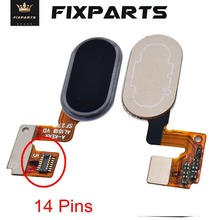 Meizu M3 Note Button Fingerprint Ribbon Identification Sensor Flex Cable Replacement Parts / L681H Home New