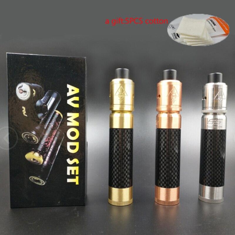Av able mods elektronische sigaret kit in staat 510 draad Mechanische - Elektronische sigaretten