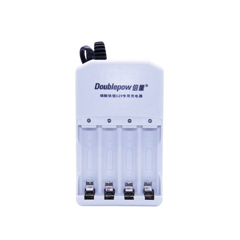 4 Slots Doublepow Dp-k36 Led Exclusive Intelligent Automatic Rapid Charger For 3.2v Lifepo4 Battery 14500 10440 Li-ion Battery Beneficial To Essential Medulla Chargers Consumer Electronics