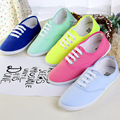 Women canvas shoes flat shoes 2016 new fashion 12 colors women flat shoes ladies shoes