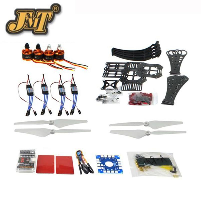 JMT DIY RC Drone Quadrocopter X4M360L Frame Kit QQ Super Flight Control f14892 f diy rc drone quadcopter rtf x4m360l frame kit with qq super flight control motor esc flysky fs i6 transmitter battery
