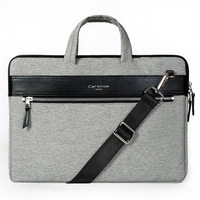 Fashion Waterproof Soft 11 12 13 Inch Laptop Bag Business Men Briefcase Shoulder Bag For IPAD