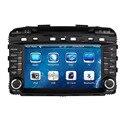 Dvd-плеер автомобиля Подходит для KIA SORENTO 2015 2016 В Тире Навигации GPS 3 Г Радио Bluetooth Рулевого Колеса