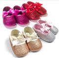 Free Shipping! Baby Girls Ballet Shoes, Infant bling bling first walker toddler moccasins 6pairs/lot d764