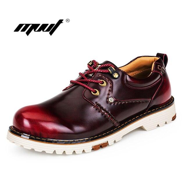 Männer Leder Stiefel Männer herbst stiefel Männlichen Arbeitsschuhe Schuhe Hohe Qualität Herbst Winter Männer Arbeitsschuhe