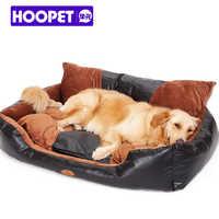 HOOPET pies łóżko Cama Para Cachorro dom duży łóżka Dla psów duże psy Legowisko Dla Psa Sofa Comforetable