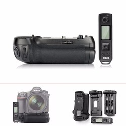 Meike MK-D850 Pro Battery Grip with 2.4G Wireless Remote Control for Nikon D850 Camera,Battery Grip Holder for Nikon D850