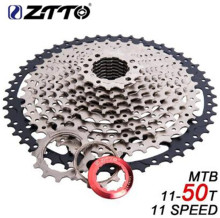 купить ZTTO MTB 11 Speed Cassette 11s 11-50T L Mountain Bike Freewheel Wide Ratio for parts m7000 m8000 m9000 SUNRACE Bicycle Parts по цене 3317.13 рублей
