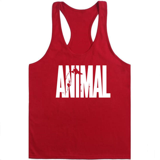 GYMS WINER Animal Stringers Mens Tank Tops Sleeveless Shirt,tanktops Bodybuilding and Fitness Men's Singlets workout Clothes
