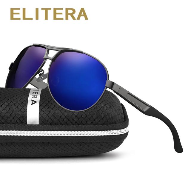 ELITERA Men's Sun Glasses Polarized Oculos masculino Male Eyewear Accessories Sunglasses For Men Driving Fishing Eyeglasses