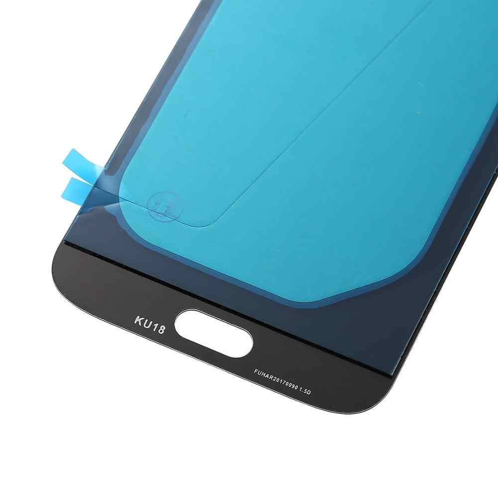 شاشة LCD عالية الجودة لسامسونج غالاكسي J7 برو 2017 شاشات الكريستال السائل J730F SM-J730 سوبر Amoled شاشة الكريستال السائل مع مجموعة المحولات الرقمية لشاشة تعمل بلمس