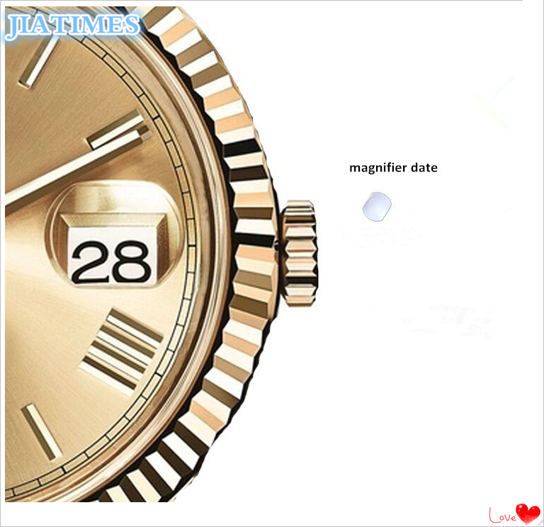 Uhrenzubehör Freies Verschiffen 1 Pc Uhr Glas/sapphire Kristall Glas Datum Lupen Für Uhr Ersatz Reparatur-werkzeuge & Kits