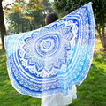 Hippy Large Beach Dress Bikini Bathing Swimwear Cover Up Sarong Wrap Scarf 2017 Fashion 150x150 cm Spring Geometric Scarves