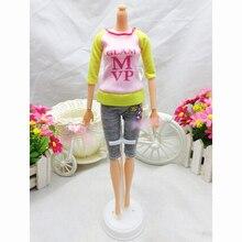 Кукла комплектов одежды модная одежда свободного покроя платье костюмы для барби лучший подарок детские игрушки