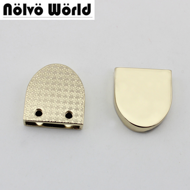 10 шт. 50 шт. 20 мм ширина украшения конец зажимы винтами, высокого качества фурнитура ц ...