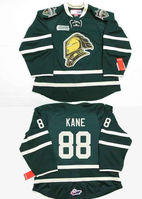 f0c8ae254 SexeMara London Knights Mitchell Marner John Tavares Patrick 88 Kane Hockey  Jersey (o personalizada cualquier