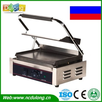 Commercial Stainless Steel Single-plate Electric Griddle Grill Grill Pan High Quality Grill Machine 220V Гриль