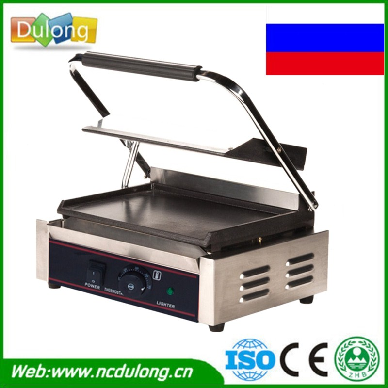 все цены на Commercial Stainless Steel Single-plate Electric Griddle Grill Grill Pan High Quality Grill Machine 220V онлайн