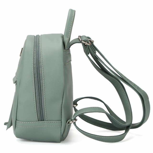 e86a9d87a4 DAVIDJONES women shoulder bags faux leather female backpacks small ...