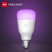 ใหม่ Update รุ่น Yeelight Smart LED หลอดไฟ E27 10W 800LM WIFI หลอดไฟสำหรับโคมไฟตั้งโต๊ะห้องนอนผ่าน App ระยะไกลควบคุมสีขาว/RGB