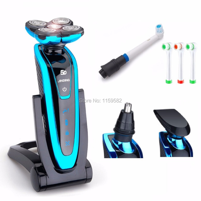 2017hot selling Large Power High technology shaver Floating Head Rechargeable Electric Shaver full waterproof shaver