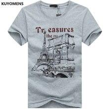 KUYOMENS Men t-shirt Plus Size Tee Shirt Homme Summer Short Sleeve Casual Men's T Shirts Male TShirts Camiseta 3D T shirt Homme