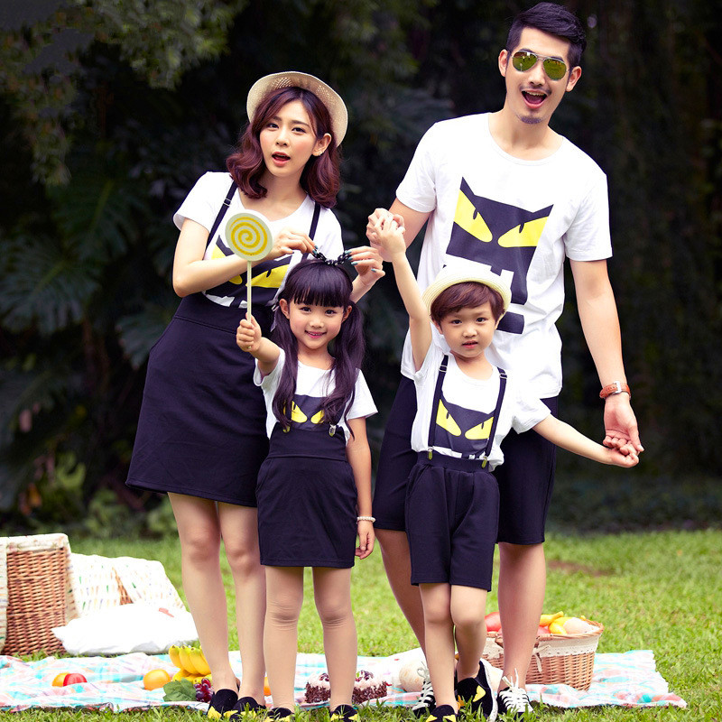 Family-Matching-Outfits-Family-Look-font-b-Mother-b-font-Daughter-font-b-Dress-b-font Father and Son Matching Outfits-20 Coolest Matching Outfits
