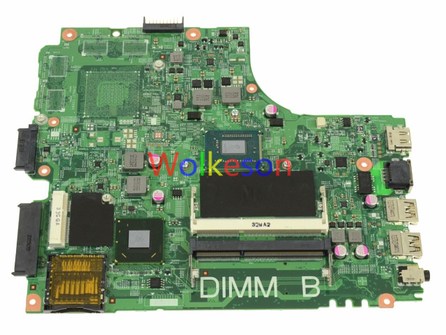 SHELI FOR DELL Inspiron 3421 5421 Laptop Motherboard W/ 1017U CPU CN-0PTNPF 0PTNPF PTNPF 12204-1 DDR3 Test ok