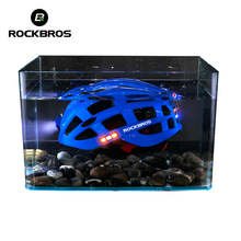 ROCKBROS Cycling Helmet Bike Ultralight Helmet with Light Integrally-Molded MTB Bicycle Helmet