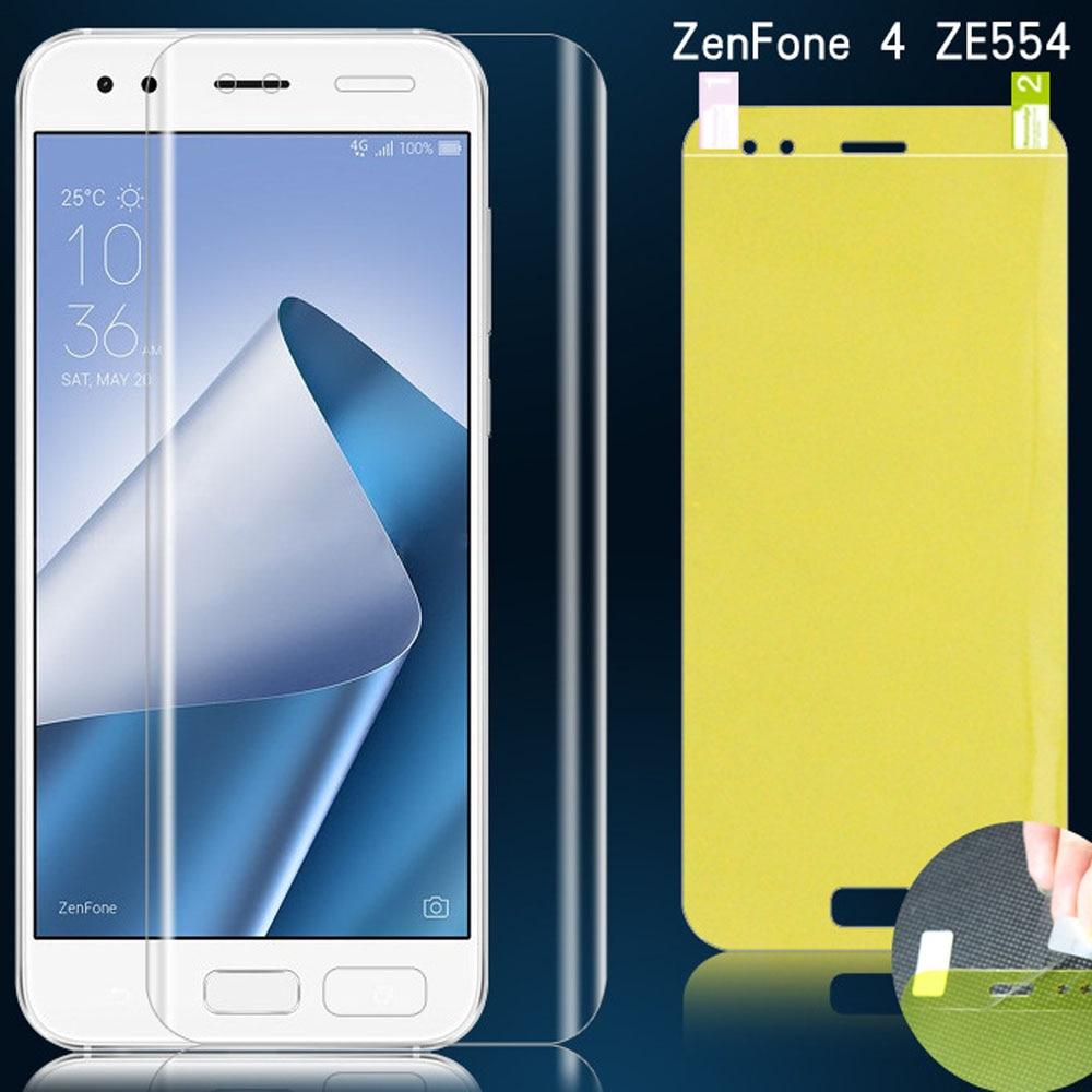Soft Hydrogel Film Zenfone 4 Max 3 Zoom Full Coverage Screen Protector Asus ZE553KL ZE552KL ZC553KL ZE554KL ZC554KL Nano Film