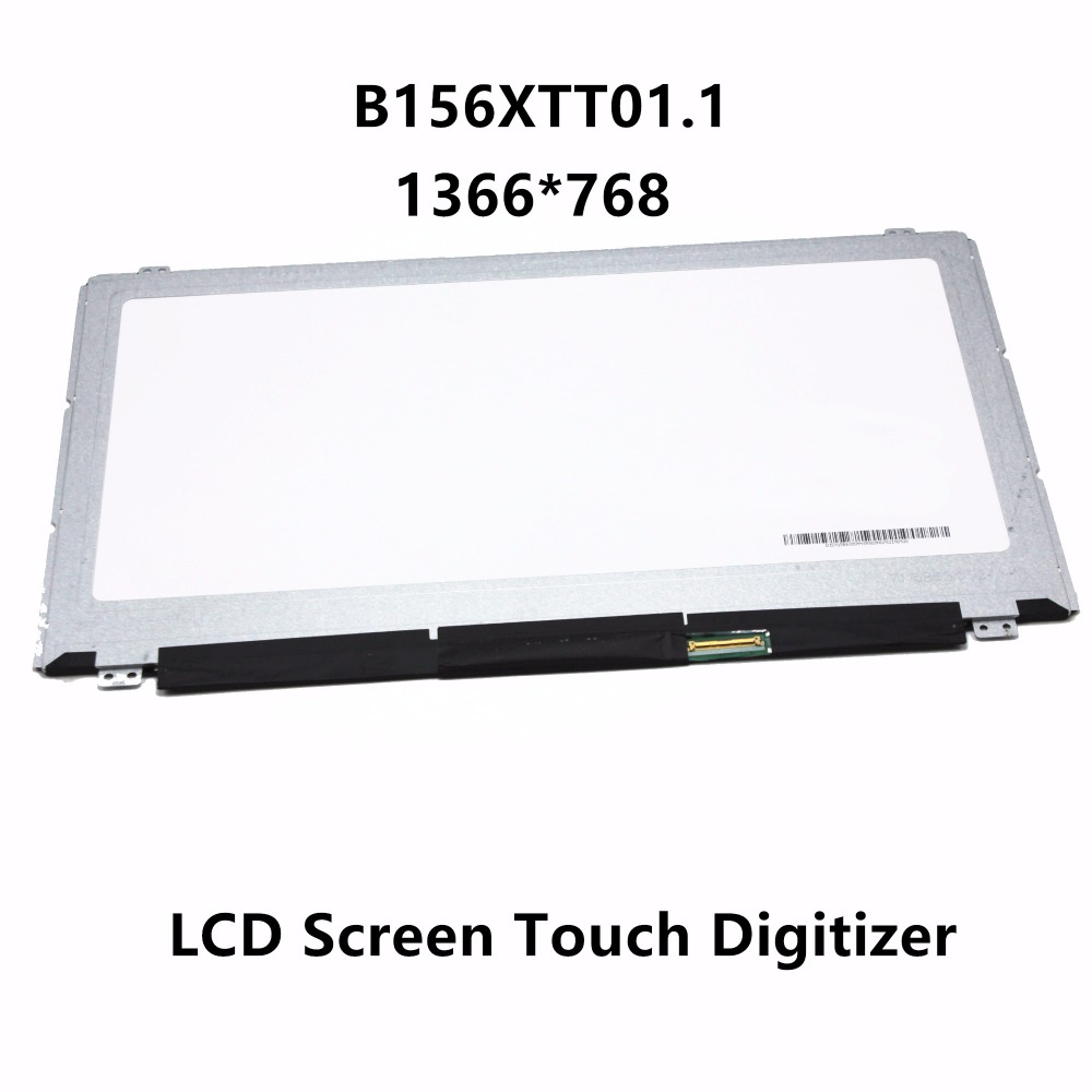 15.6'' Laptop LCD Screen Touch Panel Display 1366x768 B156XTT01.1 LTN156AT36-D01 For Dell Inspiron 3000 Series 15-3878 5551 3551 free shipping n156bgn e41 nt156whm t00 40pins edp lcd screen panel touch displayfor dell inspiron 15 5558 vostro 15 3558 jj45k
