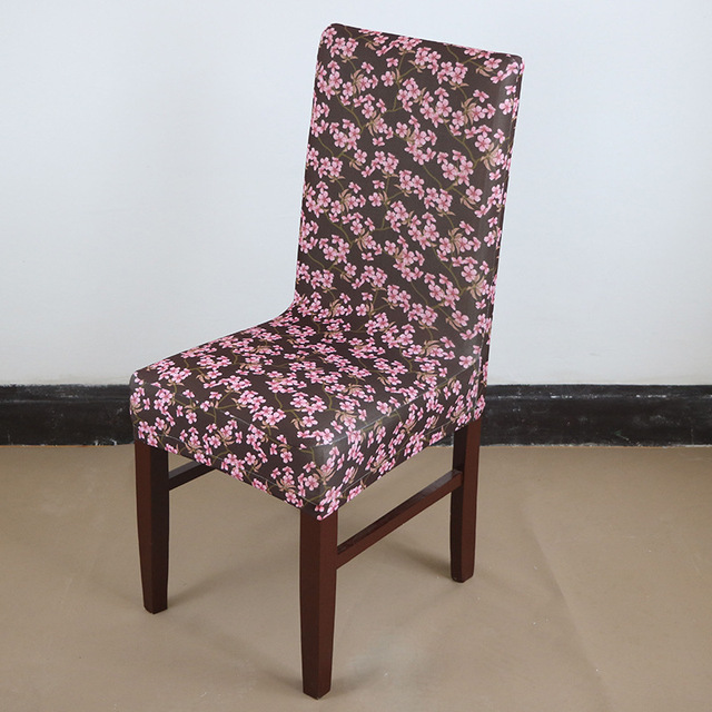 Polyester Spandex Dining Chair Covers For Wedding Party Cover Seat Removable Stretch