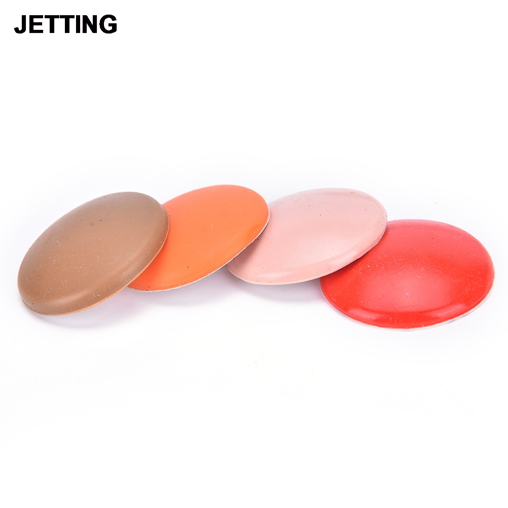 Round silicone door handle bumper pad locks protective grain bumper pad Wall Thickening Mute Stick random color