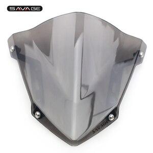 Image 2 - Windshield Pare Brise For YAMAHA MT07 MT 07 MT 07 FZ07 FZ 07 2018 2019 2020 Motorcycle Accessories Windscreens Wind Deflectors