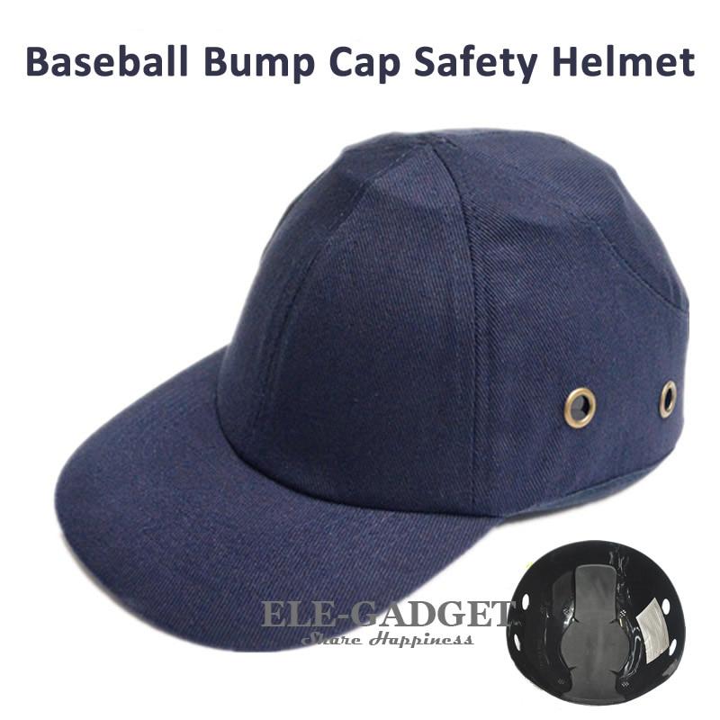 Arbeitsplatz Sicherheit Liefert Unisex Drei Farben Bump Cap Arbeit Sicherheit Helm Atmungsaktive Sicherheit Anti-auswirkungen Leichte Helme Schutz Hut