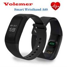 Умный Браслет A09 Браслет Heart Rate Monitor Фитнес Tracker Артериального Давления Умный браслет Для IOS Android телефон Pedomet браслет